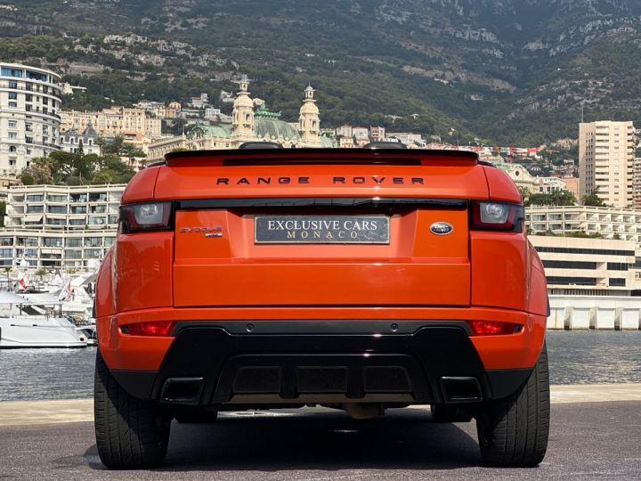 Land Rover Range Rover Evoque CABRIOLET 2.0 TD4 HSE DYNAMIC 180 CV - MONACO Orange Métal - 19