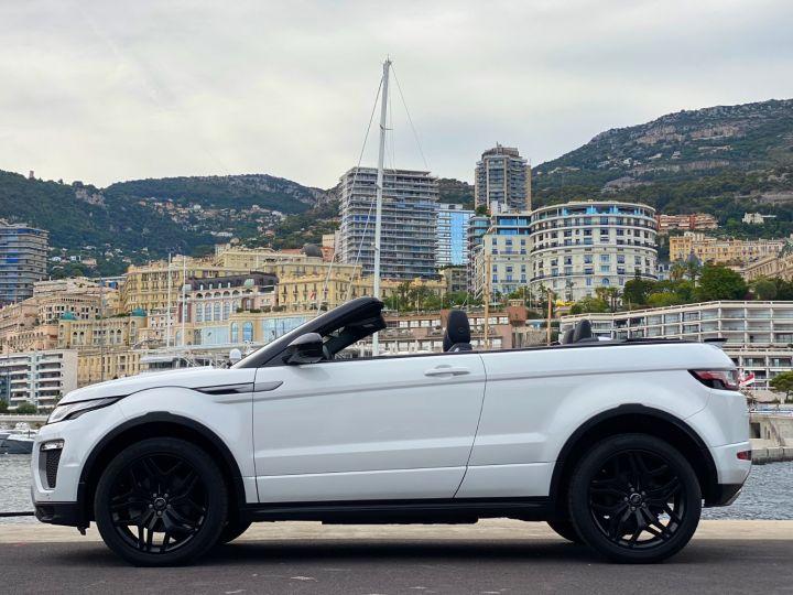 Land Rover Range Rover Evoque CABRIOLET 2.0 TD4 SE DYNAMIC 180 CV - MONACO Blanc - 5