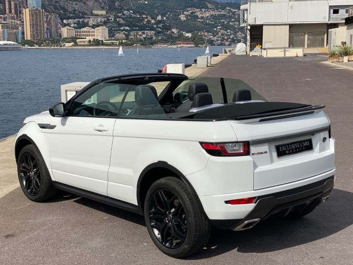 Land Rover Range Rover Evoque CABRIOLET 2.0 TD4 SE DYNAMIC 180 CV - MONACO Blanc - 21