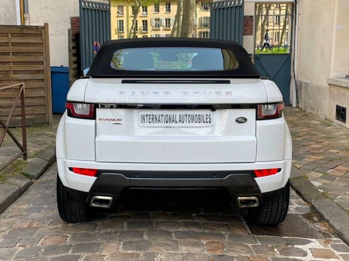 Land Rover Range Rover Evoque Cabriolet TD4 180 HSE Dynamic BV9 Blanc - 9