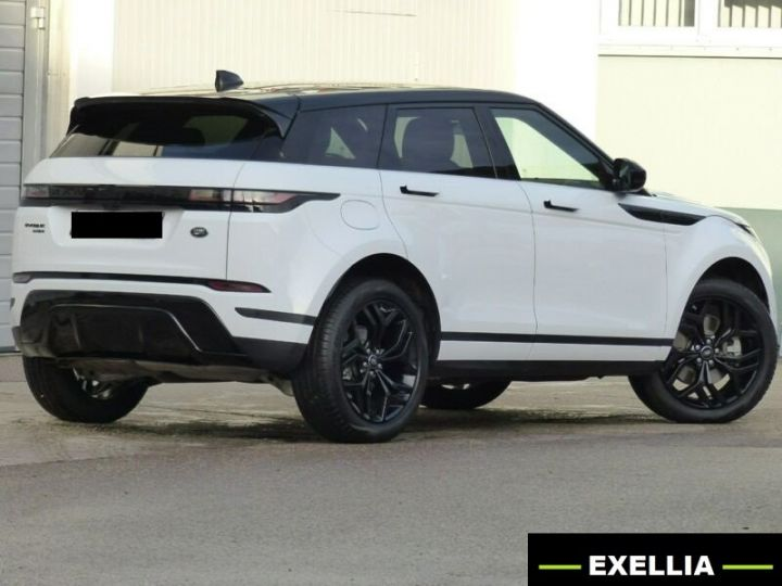 Land Rover Range Rover Evoque D 150 AUTO R DYNAMIC BLACK  BLANC Occasion - 4
