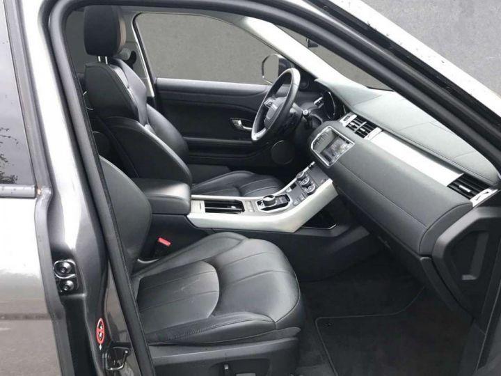 Land Rover Range Rover Evoque # D150 'Black Edition # toit Pano Gris Peinture métallisée - 6