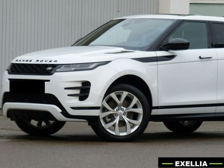 Land Rover Range Rover Evoque D150 R-Dynamic  BLANC METALISEE Occasion - 1