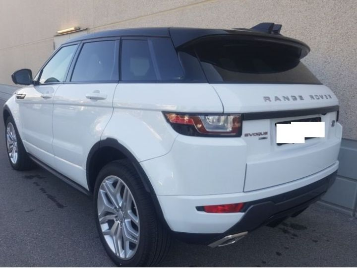 Land Rover Range Rover Evoque DYNAMIC HSE EDITION TD4 180 BLANC  Occasion - 7