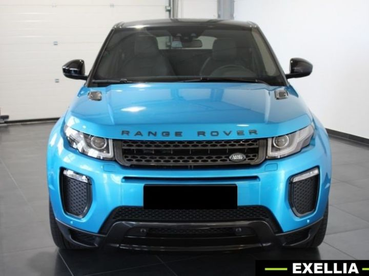 Land Rover Range Rover Evoque DYNAMIC LANDMARK EDITION TD4 180  BLEU  Occasion - 4