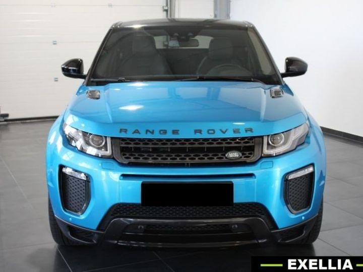 Land Rover Range Rover Evoque DYNAMIC LANDMARK EDITION TD4 180  BLEU  Occasion - 4