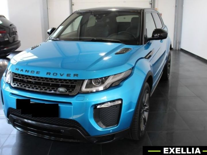 Land Rover Range Rover Evoque DYNAMIC LANDMARK EDITION TD4 180  BLEU  Occasion - 5