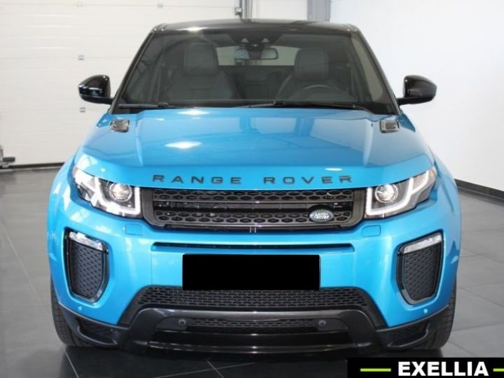 Land Rover Range Rover Evoque DYNAMIC LANDMARK EDITION TD4 180  BLEU  Occasion - 9