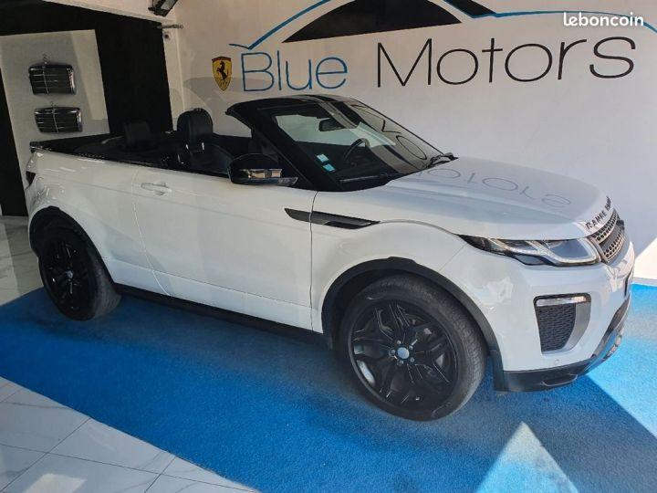 Land Rover Range Rover Evoque Évoque cabriolet 2.0D 180ch Blanc - 1