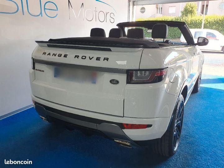 Land Rover Range Rover Evoque Évoque cabriolet 2.0D 180ch Blanc - 2