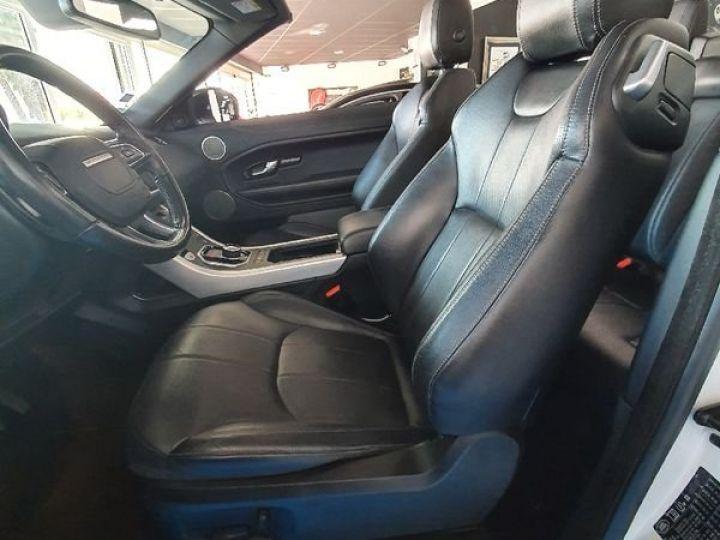 Land Rover Range Rover Evoque Évoque cabriolet 2.0D 180ch Blanc - 5