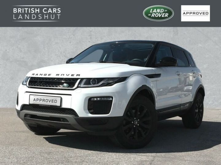 Land Rover Range Rover Evoque Land Rover Range Rover Evoque 2.0 Td4 SE Black Edition 150ch / Toit Pano / Caméra / Volants et siège chauffants / Ecran tactile / 1er main / Garantie  Blanc - 1