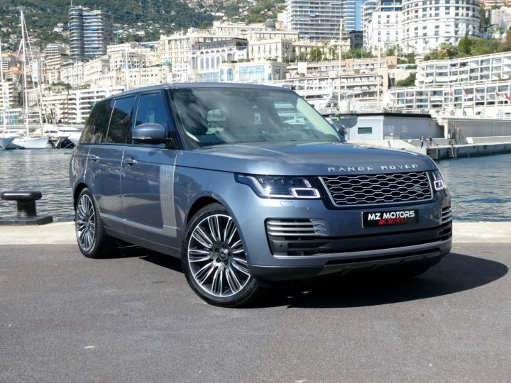 Land Rover Range Rover IV (2) P400 SI6 3.0 AUTOBIOGRAPHY SWB Byron Blue Occasion - 5