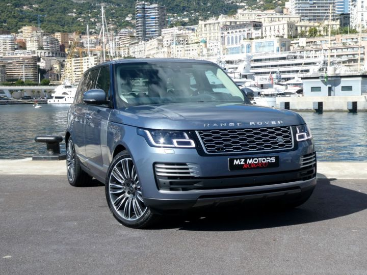 Land Rover Range Rover IV (2) P400 SI6 3.0 AUTOBIOGRAPHY SWB Byron Blue Occasion - 6