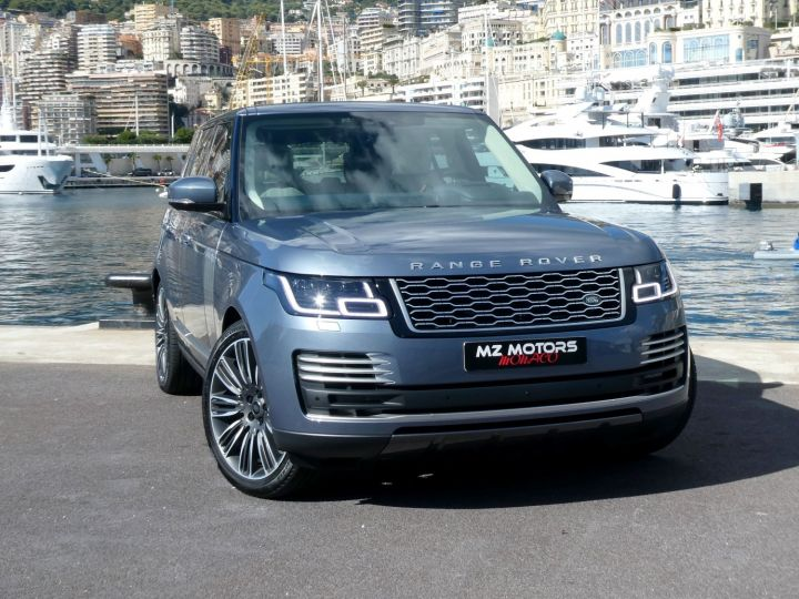 Land Rover Range Rover IV (2) P400 SI6 3.0 AUTOBIOGRAPHY SWB Byron Blue Occasion - 7