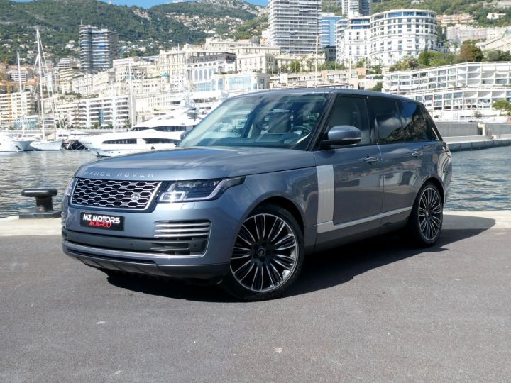 Land Rover Range Rover IV (2) P400 SI6 3.0 AUTOBIOGRAPHY SWB Byron Blue Occasion - 3