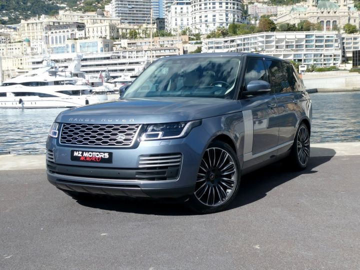 Land Rover Range Rover IV (2) P400 SI6 3.0 AUTOBIOGRAPHY SWB Byron Blue Occasion - 2