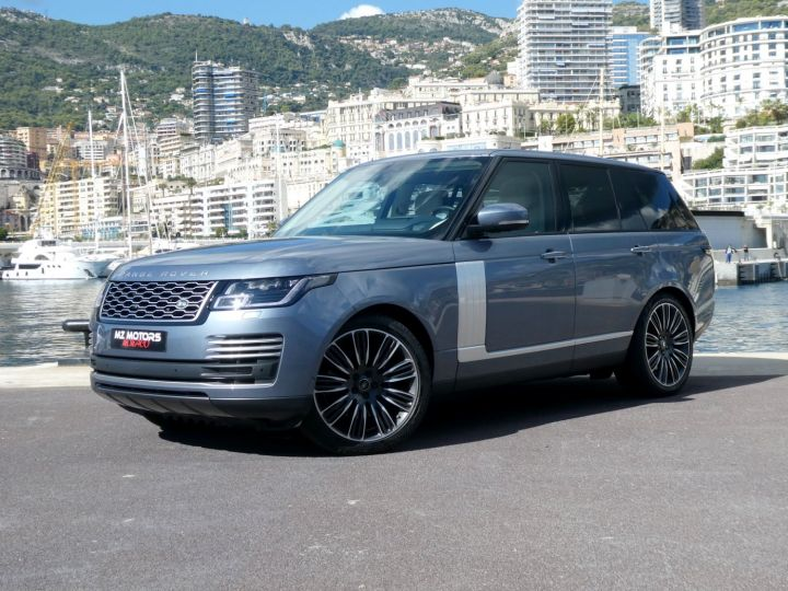 Land Rover Range Rover IV (2) P400 SI6 3.0 AUTOBIOGRAPHY SWB Byron Blue Occasion - 4