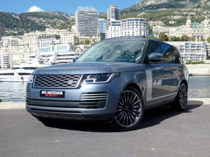 Land Rover Range Rover IV (2) P400 SI6 3.0 AUTOBIOGRAPHY SWB Byron Blue Occasion - 1