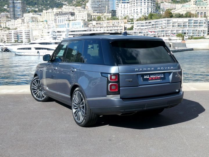 Land Rover Range Rover IV (2) P400 SI6 3.0 AUTOBIOGRAPHY SWB Byron Blue Occasion - 8