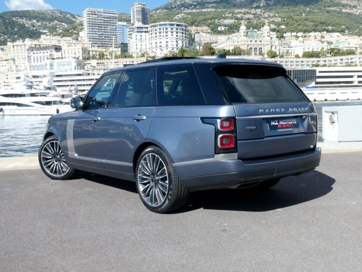 Land Rover Range Rover IV (2) P400 SI6 3.0 AUTOBIOGRAPHY SWB Byron Blue Occasion - 9