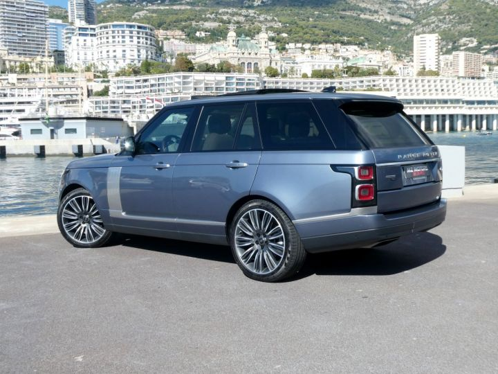 Land Rover Range Rover IV (2) P400 SI6 3.0 AUTOBIOGRAPHY SWB Byron Blue Occasion - 10