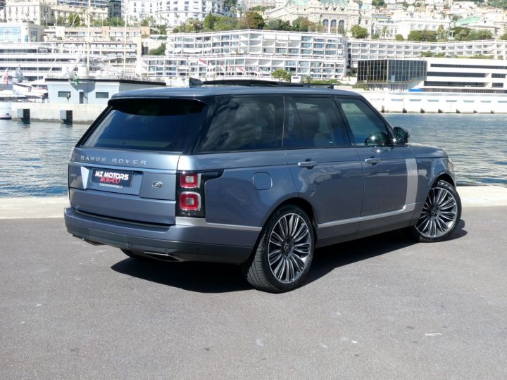 Land Rover Range Rover IV (2) P400 SI6 3.0 AUTOBIOGRAPHY SWB Byron Blue Occasion - 12