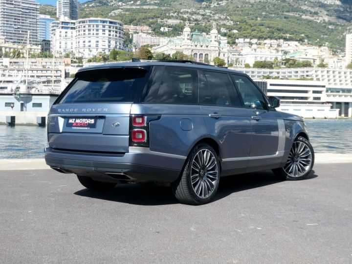 Land Rover Range Rover IV (2) P400 SI6 3.0 AUTOBIOGRAPHY SWB Byron Blue Occasion - 13