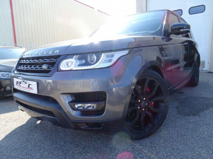 Land Rover Range Rover Sport 3.0 SDV6 292 HSE DYNAMIC AUTO/Toe Pano Jantes 22  GPS Bixenon  Meridian .... gris anthracite métallisé - 1