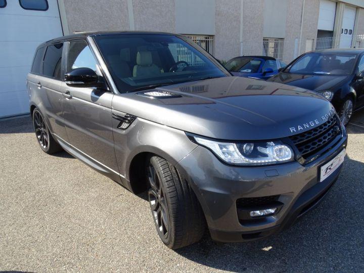 Land Rover Range Rover Sport 3.0 SDV6 292 HSE DYNAMIC AUTO/Toe Pano Jantes 22  GPS Bixenon  Meridian .... gris anthracite métallisé - 2