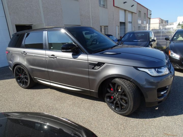 Land Rover Range Rover Sport 3.0 SDV6 292 HSE DYNAMIC AUTO/Toe Pano Jantes 22  GPS Bixenon  Meridian .... gris anthracite métallisé - 3