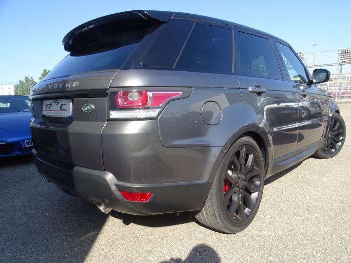Land Rover Range Rover Sport 3.0 SDV6 292 HSE DYNAMIC AUTO/Toe Pano Jantes 22  GPS Bixenon  Meridian .... gris anthracite métallisé - 5