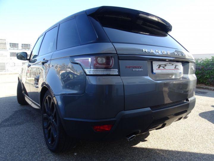 Land Rover Range Rover Sport 3.0 SDV6 292 HSE DYNAMIC AUTO/Toe Pano Jantes 22  GPS Bixenon  Meridian .... gris anthracite métallisé - 9