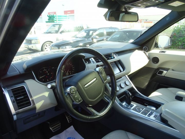 Land Rover Range Rover Sport 3.0 SDV6 292 HSE DYNAMIC AUTO/Toe Pano Jantes 22  GPS Bixenon  Meridian .... gris anthracite métallisé - 11