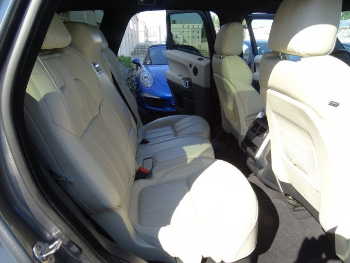 Land Rover Range Rover Sport 3.0 SDV6 292 HSE DYNAMIC AUTO/Toe Pano Jantes 22  GPS Bixenon  Meridian .... gris anthracite métallisé - 15