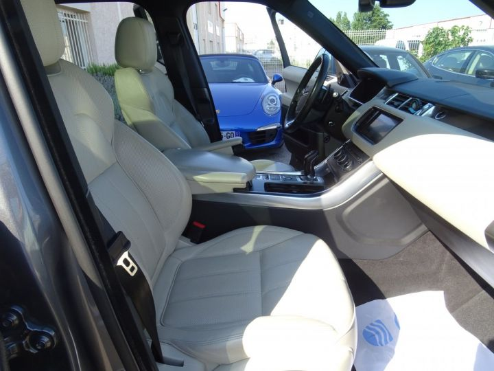 Land Rover Range Rover Sport 3.0 SDV6 292 HSE DYNAMIC AUTO/Toe Pano Jantes 22  GPS Bixenon  Meridian .... gris anthracite métallisé - 21