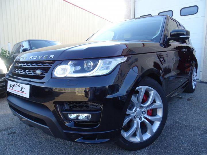 Land Rover Range Rover Sport 3.0 SDV6 306 19CV AUTOBIOGRAPHY DYNAMIC AUTO Noir metallisé - 1