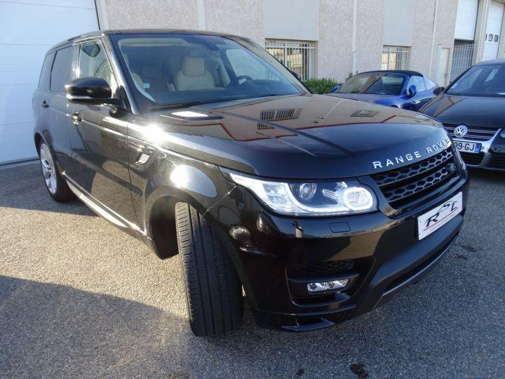 Land Rover Range Rover Sport 3.0 SDV6 306 19CV AUTOBIOGRAPHY DYNAMIC AUTO Noir metallisé - 4