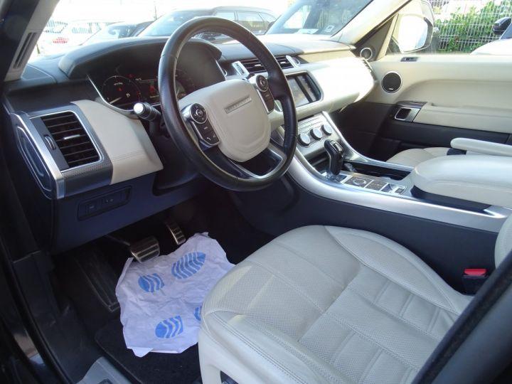 Land Rover Range Rover Sport 3.0 SDV6 306 19CV AUTOBIOGRAPHY DYNAMIC AUTO Noir metallisé - 8