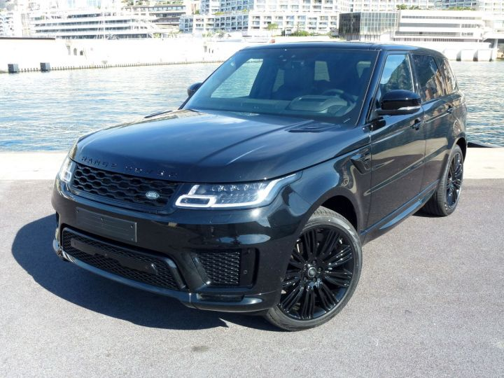 Land Rover Range Rover Sport 3.0 SDV6 306 AUTOBIOGRAPHY DYNAMIC Noir Santorini Occasion - 3