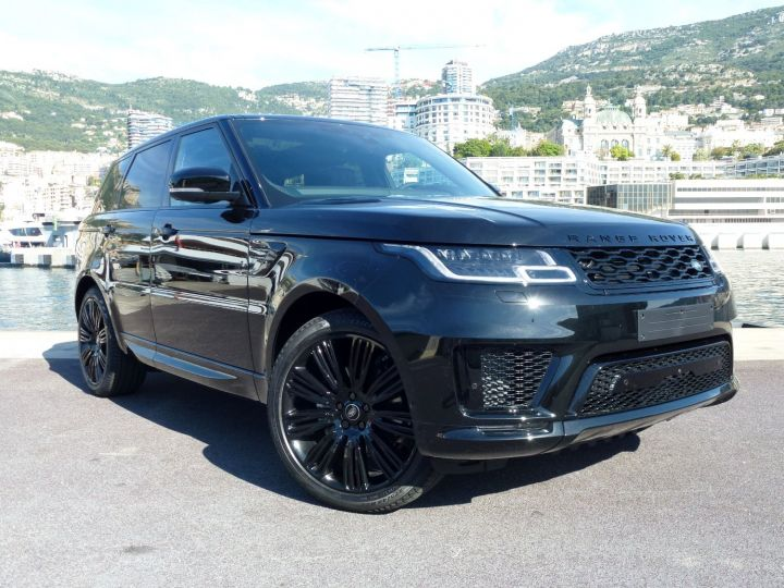 Land Rover Range Rover Sport 3.0 SDV6 306 AUTOBIOGRAPHY DYNAMIC Noir Santorini Occasion - 4