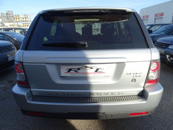 Land Rover Range Rover Sport HSE 3.0L 245PS BVA/TOE JTES 20  PDC + Caméra  Harman Kardon argent met - 8