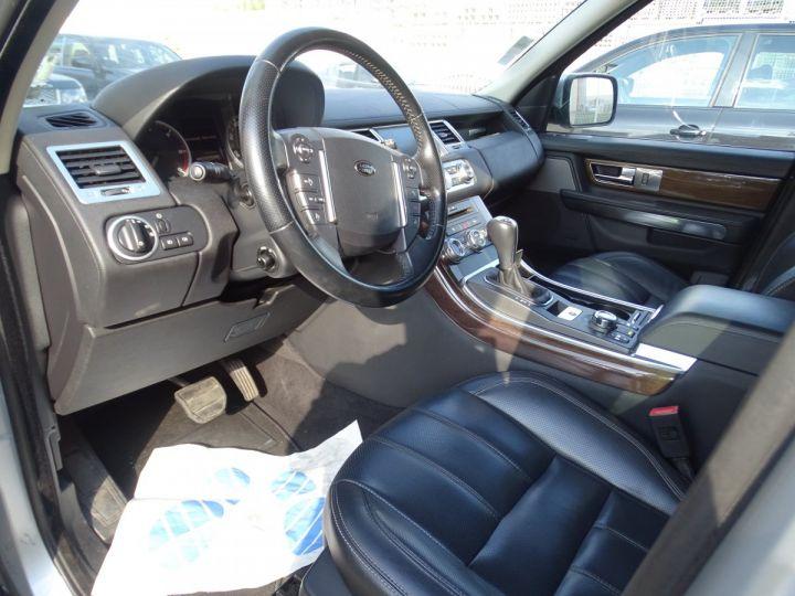 Land Rover Range Rover Sport HSE 3.0L 245PS BVA/TOE JTES 20  PDC + Caméra  Harman Kardon argent met - 10
