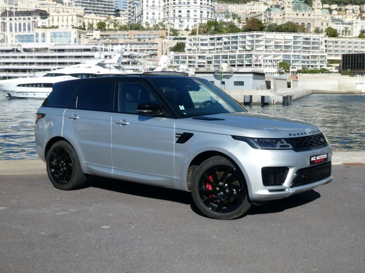 Land Rover Range Rover Sport II 2.0 P400E PHEV 404 HSE DYNAMIC AUTO Argent Rhodium Occasion - 4