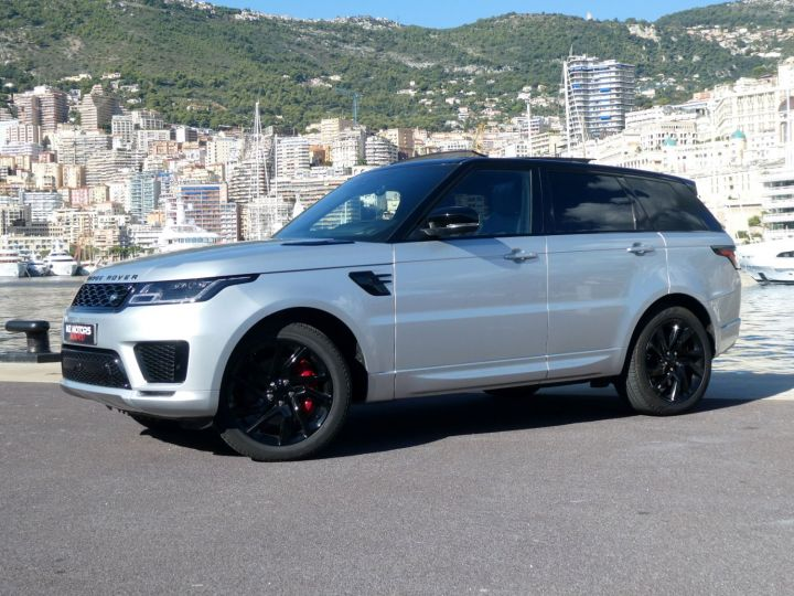 Land Rover Range Rover Sport II 2.0 P400E PHEV 404 HSE DYNAMIC AUTO Argent Rhodium Occasion - 3