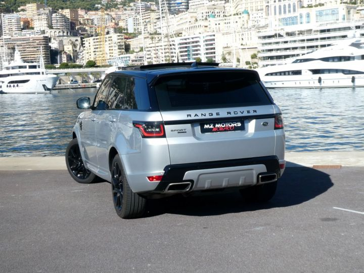 Land Rover Range Rover Sport II 2.0 P400E PHEV 404 HSE DYNAMIC AUTO Argent Rhodium Occasion - 10