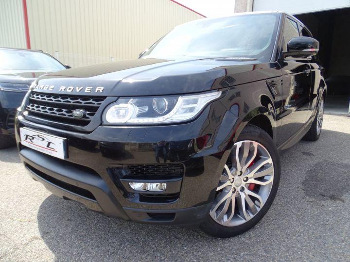 Land Rover Range Rover Sport SDV6 306PS BVA HSE DYNAMIC/ 7 Places jtes 21 TOE Camera LED noir metallisé - 1