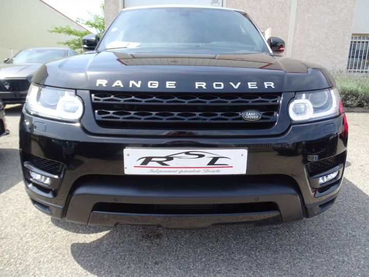 Land Rover Range Rover Sport SDV6 306PS BVA HSE DYNAMIC/ 7 Places jtes 21 TOE Camera LED noir metallisé - 4