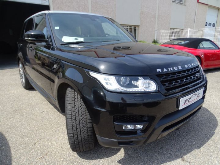 Land Rover Range Rover Sport SDV6 306PS BVA HSE DYNAMIC/ 7 Places jtes 21 TOE Camera LED noir metallisé - 5