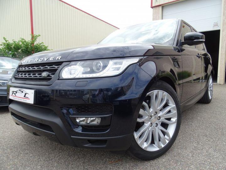 Land Rover Range Rover Sport SDV6 HSE DYNAMIC 258PS/JTES 21 TOE PANO  LED 45KM Noir Mariana métallisé - 1